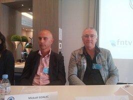 Mickael Goalec dirigeant et Marc Bedouin FO Les Routiers bretons charte sociale